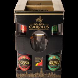 COFFRET CAROLUS 4X33CL + 1...